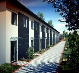 Rodinná stavba v Trenčine, 3d render, mental ray, 3ds ,ax