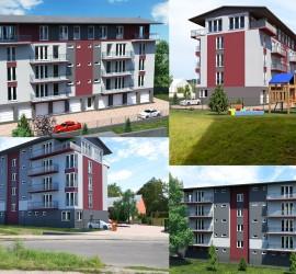 3d vizualizácia domu, zmena fasády