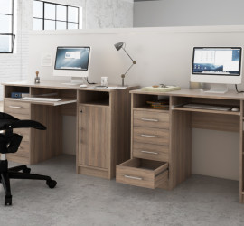 3d vizualizácia kancelárskeho stolíka pre výrobcu nábytku.